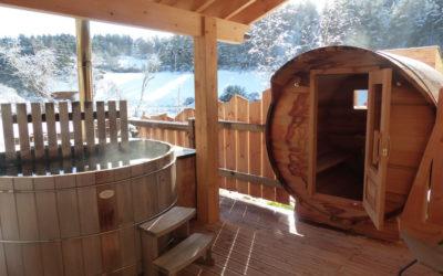 Bain nordique et Sauna